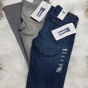 2 Calvin Klein skinny denim 2x32 nwt